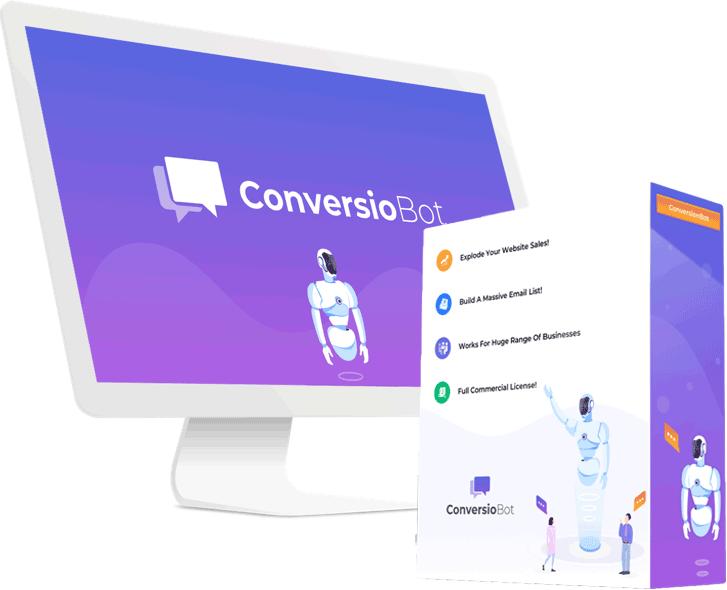 Nesecitas a alguien que atienda tu negocio online? ConversioBot